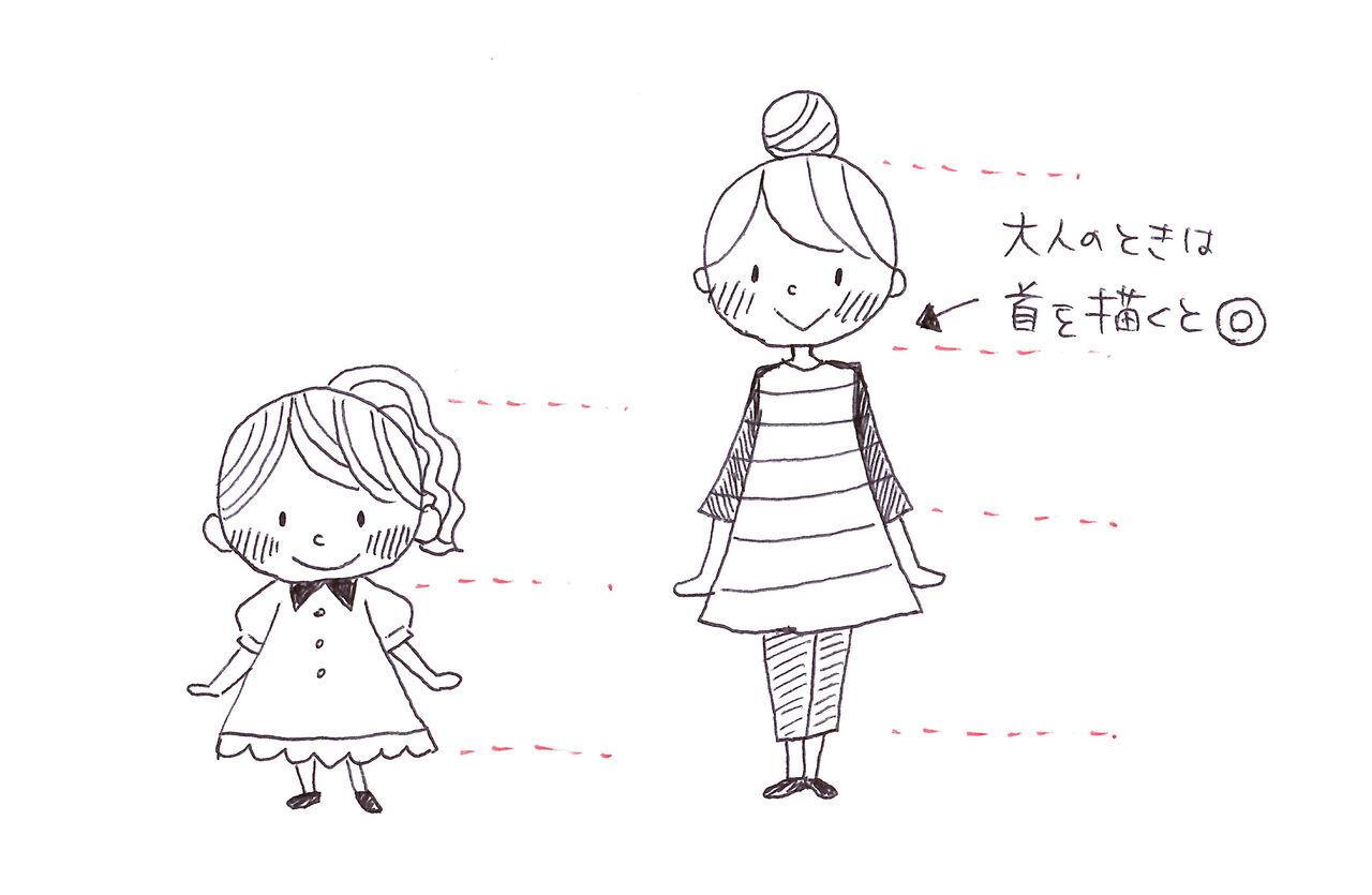 簡単かわいい♡ボールペンイラストの描き方 , 高川夏子|子供